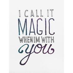 magic by coldplay lyrics