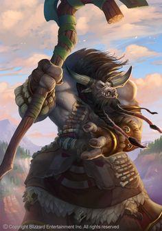 World of Warcraft - Tauren - Druida World Of Warcraft Characters, Fantasy Characters, The Elder Scrolls, Magical Creatures, Fantasy Creatures, Character Portraits, Character Art, Warcraft 3, Heroes Of The Storm