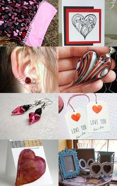 "A Valentine's Day ""Heart Rush"" from the KC Etsy Team :)"