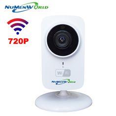 HD 미니 와이파이 IP 카메라 무선 720 마력 TF SD 카드 P2P 아기 모니터 네트워크 CCTV 보안 카메라 홈 보호 모바일 원격 캠