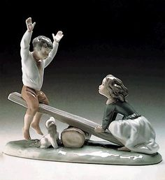 LLADRO - SEESAW    my favorite one growing up