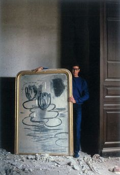 Yves Saint Laurent in 1980 photographed by Lord Snowdon.