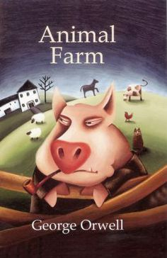 """A BANNED BOOK - SUPPRESSED ON POLITICAL GROUNDS - """"All animals are equal, but some animals are more equal than others.""""George Orwell's modern fable on the way power corrupts is as apt as ever in the twenty-first century."""