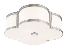 "16.75"" FOUR LEAF CLOVER FLUSH MOUNT :: FLUSH & SEMI-FLUSH FIXTURES :: Ceiling lights Toronto, Bath and vanity lighting, Chandelier lighting, Outdoor lighting and kitchen lights :: Union"