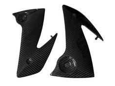 Carbon Fiber Kawasaki ER6F 06 08 Frame Covers