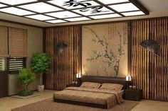 cool modern japanese style bedroom design for small space - home design and furniture Japanese Inspired Bedroom, Japanese Style Bedroom, Japanese House, Minimalist House Design, Minimalist Home, Japan Bedroom, Modern Japanese Interior, Japanese Design, Oriental Bedroom