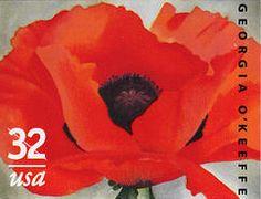"""Georgia O'Keeffe's """"Red Poppy,"""" 1927"""