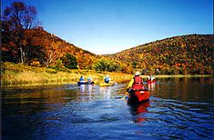 Fall colors canoeing trips. Makes me miss NH.
