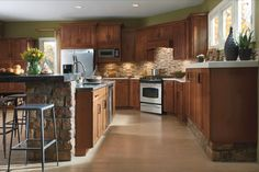 Kitchen With Wilsonart Hd Laminate Typhoon Gold With