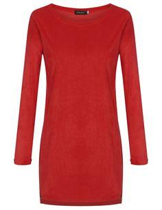 Gray New Fashion Women Long Sleeve Loose Cotton Sweater Mini Casual Dresses