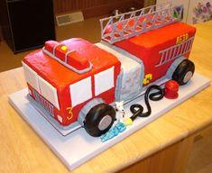 firetruck birthday cakes - Google Search