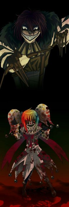 Laughing Jack, Ms.Giggles; Creepypasta