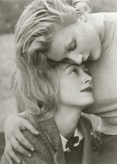 Nusch et Sonia Mossé, ca 1935, Man Ray. There is so much tenderness in this beautiful portrait ~ Epi