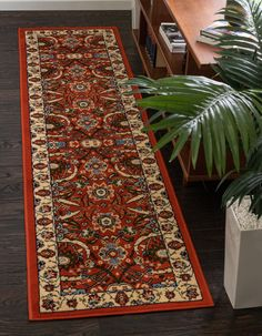 Terracotta Isfahan Design Area Rug Dorm Rugs, Clearance Rugs, Rugs In Living Room, Bedroom Rugs, New Years Sales, Office Rug, Traditional Rugs, Animals For Kids, Comforter Sets