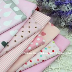 Twill 8 pcs Pink cartoon Cotton Fabric for DIY Patchwork Sewing Kids Bedding Bags Dot Tilda Doll  Cloth Textiles Fabric 40*50cm-in Fabric from Home & Garden on Aliexpress.com   Alibaba Group