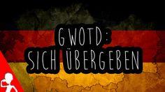 Today's #German word of the day is: sich fürchten   Fürchtet ihr euch a lot?   Poor Shari hat sich so sehr gefürchtet!  I bet a thumbs up will make her feel better!  Somehow...  :D  #gwotd