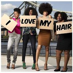 Afros love themselves... unconditionally!