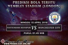 Prediksi Bola Liga Inggris Tottenham Hotspur vs Manchester City pekan ke-34 akan berlangsung di Wembley Stadium (London) pada hari Minggu 15 April 2018 yang dimulai pada pukul 01.45 WIB.