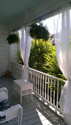 1000 images about balcony curtains on pinterest balcony for Balcony curtains
