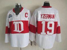 Detroit Red Wings 19 Steve YZERMAN Winter Classic Jersey