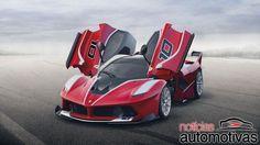 Ferrari FXX K  1.050 cv!