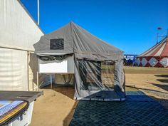 Traymate camper fly- Slide on Aluminium Ute Canopies