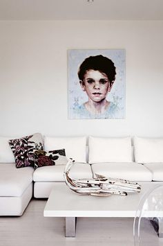 White living rooms: 12 inspring ideas. Photography by Michael Wee. Styling by David Harrison.