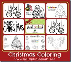 Christmas Coloring Activities