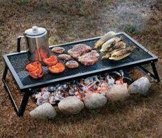 Folding Campfire grill