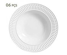 Conjunto de pratos fundos roma