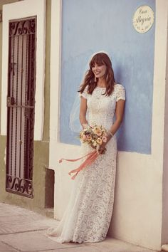 We're loving the fresh, eclectic + playful Galina collection, exclusive to and designed with the free-spirited bride in mind! See the dresses today {link in bio} 🎊 Romantic Bohemian Wedding Dresses, Lace Beach Wedding Dress, Wedding Dresses Photos, Perfect Wedding Dress, Trendy Wedding, Lace Wedding, Wedding Ideas, Wedding Shoes, Lace Dress