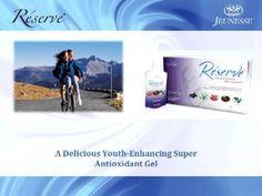 Resveratrol and Jeunesse Reserve