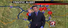 This Traffic Reporter's Daughter Has Made Him Listen To 'Let It Go' A Few Too Many Times //This is the best xD