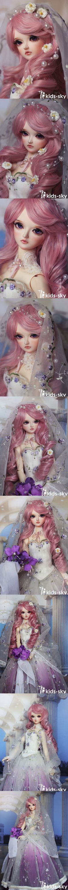 BJD Amethyst 58cm Girl Ball-jointed doll_SD size_Kids-Sky_DOLL_Ball Jointed Dolls (BJD) company-Legenddoll