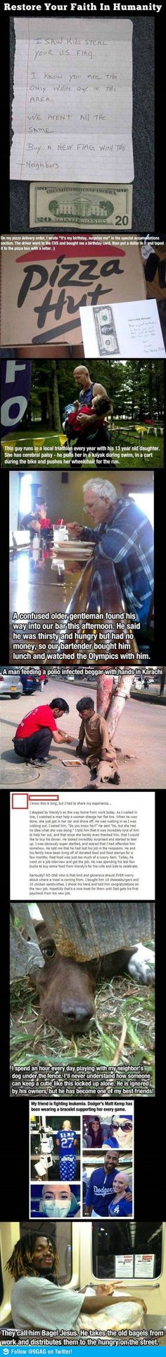 Faith in humanity restored!!!