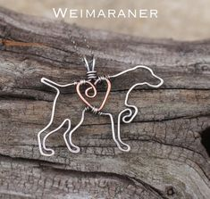 *Listing is for one necklace.* To view images of all dogs, please visit, http://karismabykara.com/home/gallery My own original
