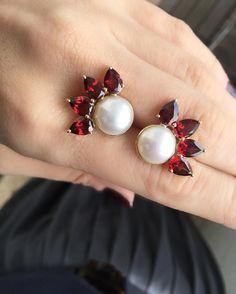 Bom dia e ótima semana! #perola #gem #jewelry #jewelryaddict
