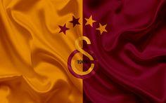 Indir duvar kağıdı Galatasaray, Futbol, İstanbul, amblemi, Galatasaray logo, Türkiye, Türk Futbol Kulübü