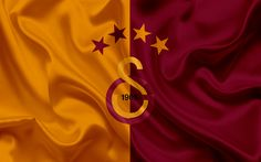 Download wallpapers Galatasaray, Football, Istanbul, emblem, Galatasaray logo, Turkey, Turkish football club