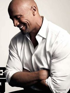 """Celebrity Male Dimples - Dwayne Johnson """"The Rock"""" - Click to Discover what Your Face Reveals with a Professional Face Reading and Face Compatibility Reading. :)"""