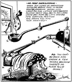 Rube Goldberg Cartoon Worksheet