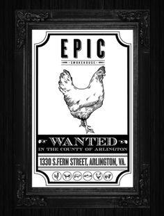 EPIC SMOKEHOUSE by ROCK3RS , via Behance http://www.behance.net/gallery/EPIC-SMOKEHOUSE/5940719#