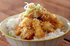 Honey Soy Popcorn Chicken