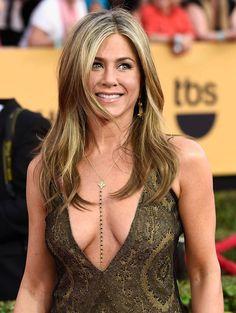 Lariat, Gemstone Y Necklace, Celebrity Inspired, Jennifer Aniston, Gold Necklace, Black Necklace, Girlfriend Gift by LisaDJewelry on Etsy https://www.etsy.com/listing/255561823/lariat-gemstone-y-necklace-celebrity