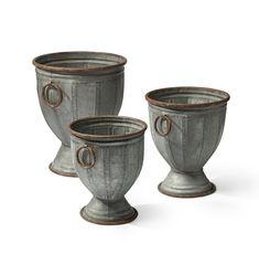 Fitzwilliam Urn Planters, Set of 3