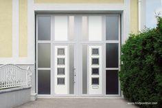Garagentor modern weiß  8 best Garagentore zweiflügelig modern (Garagentor) images on Pinterest