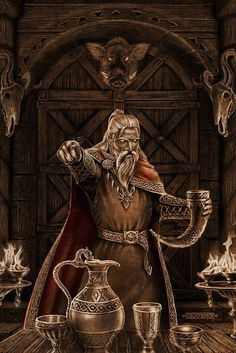 """VALHALLA - this is where ODIN rules and the slain warriors feast at night in the """"great hall of the slain warriors"""" in VALHALLA"""