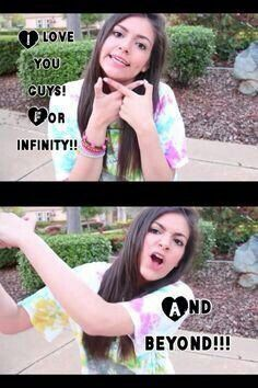 Bethany i love you more than for infiniti and beyond♡