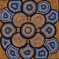 """Yarla Jukurrpa"" by Steven Hargraves Jangala 30cm x 30cm $185"