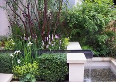 water feature for a small garden,